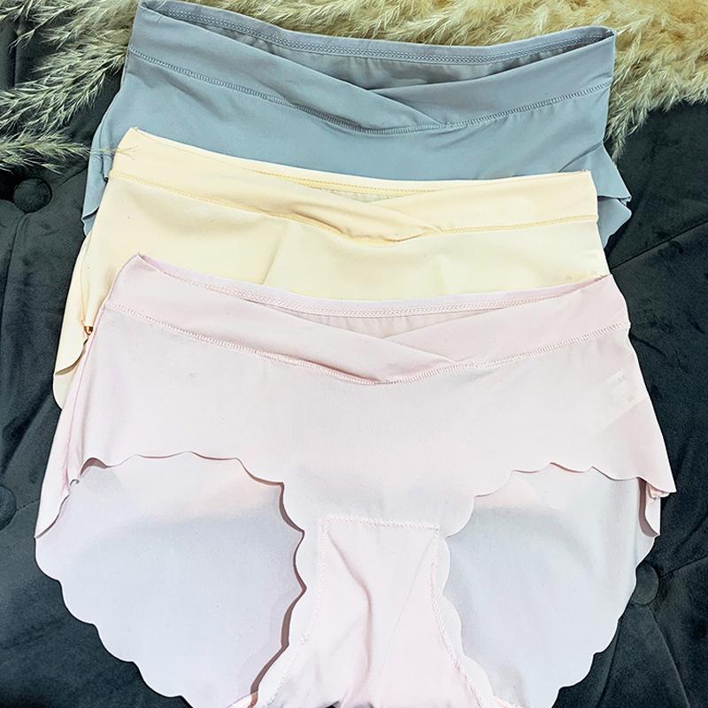 Quần Lót Cotton Lưng Thấp Thời Trang Cho Mẹ Bầu 2021
