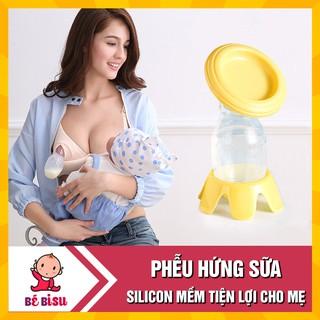 Phễu/ Cốc hứng sữa silicon rảnh tay cho mẹ