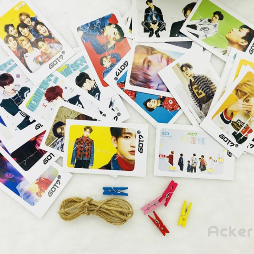acker Ready Stock] COD BT21 BTS Blackpink GOT7 TWICE Photo LOMO Card