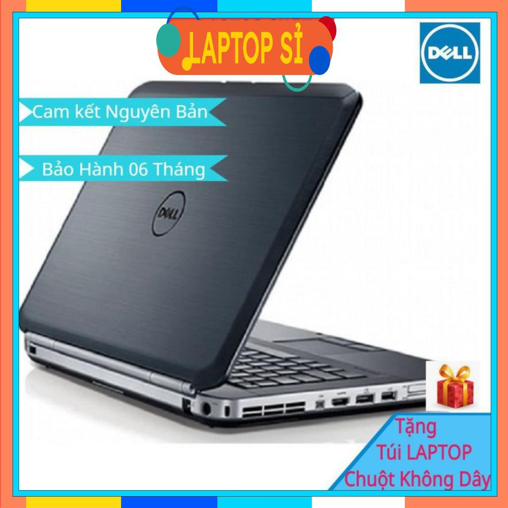 [Laptop Văn Phòng] Laptop Cũ Dell E5420 Core I5- 2540M @ 2.60GHz, Ram 4GB, SSD 120GB Máy Tính Xách Tay Hàng Nguyên Bản