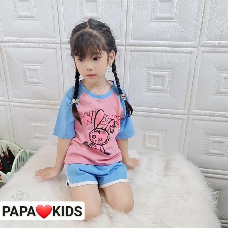 Mặc gì đẹp: Gọn tiện với Bộ đồ đôi cho mẹ và bé mặc ở nhà PAPAKIDS size 10-65kg