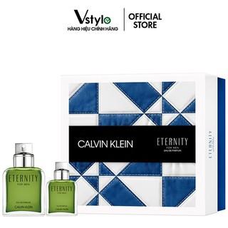 Bộ Quà Tặng Nước Hoa Eternity Calvin Klein For Men EDP 100ml-30ml thumbnail