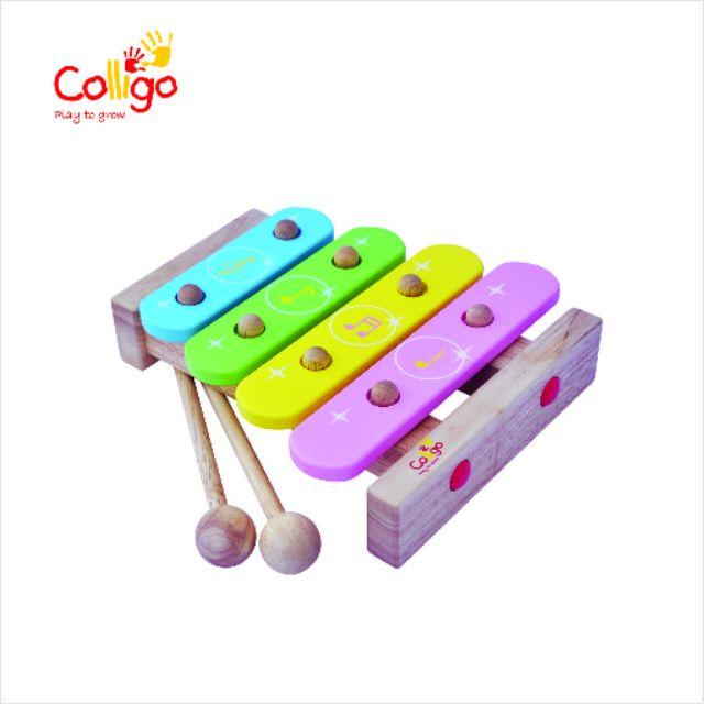 Đồ chơi gỗ Colligo xuất Nhật – Đàn mộc cầm