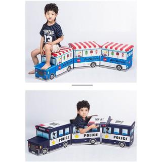 Thùng đựng đồ chơi hình ô tô