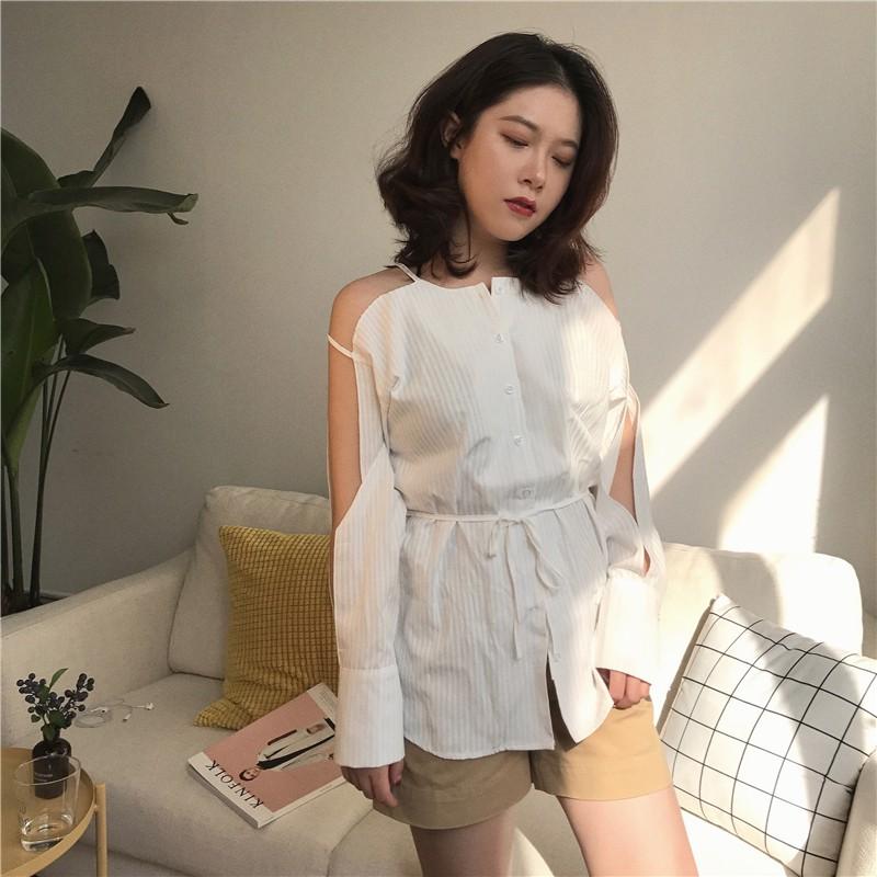 NHẬP MÃ GTJUL182320 áo trễ hở vai tay Quảng Châu order 09