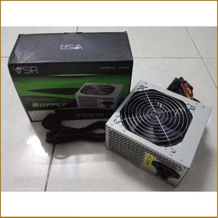 [SALE  HOT] Nguồn dành cho máy tính bàn Vision 650W - Fan 12cm có dây nguồn