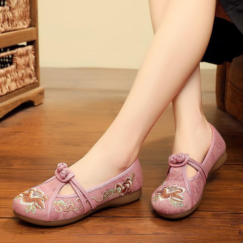 giày búp bê thêu hoa xinh xắn dành cho nữ - 22301480 , 3102406495 , 322_3102406495 , 290200 , giay-bup-be-theu-hoa-xinh-xan-danh-cho-nu-322_3102406495 , shopee.vn , giày búp bê thêu hoa xinh xắn dành cho nữ