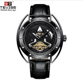 Đồng hồ Tourbillon cơ khí chống thấm nước Tevise của Thụy Sĩ dành cho nam t831