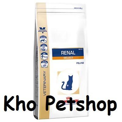 [Mã 267FMCGSALE giảm 8% đơn 500K] Canin Renal - dành cho mèo bị bệnh thận 2kg (túi chính hãng)