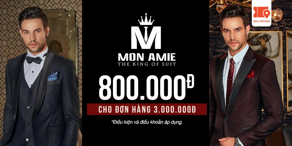 E-Voucher Mon Amie 800.000đ cho đơn hàng 3.000.000đ