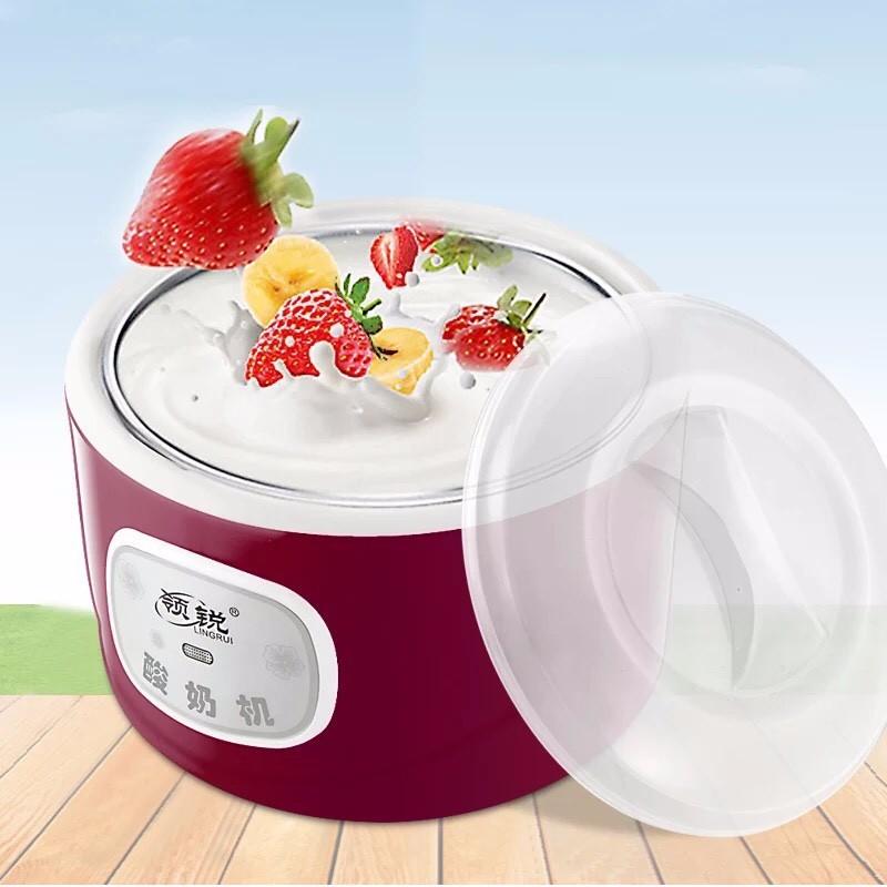 (Freeship) Máy làm sữa chua cao cấp ruột inox 1 lít Vega Yogurt PA-12A