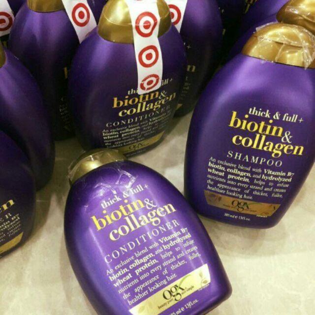 DẦU GỘI Organix Thick and Full Biotin and Collagen Shampoo - 2956831 , 97772038 , 322_97772038 , 280000 , DAU-GOI-Organix-Thick-and-Full-Biotin-and-Collagen-Shampoo-322_97772038 , shopee.vn , DẦU GỘI Organix Thick and Full Biotin and Collagen Shampoo