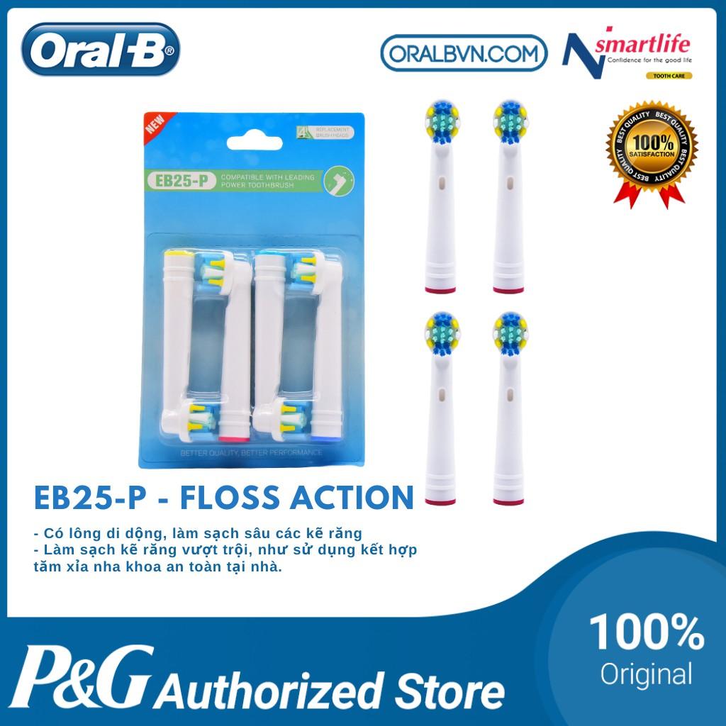 Đầu bàn chải điện thay thế EB17-P- DAILY  thích hợp cho việc đánh răng hàng ngày sản xuất theo tiêu chuẩn của Oral B