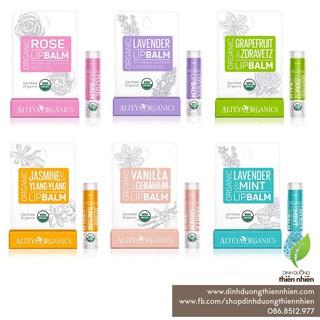 Son Dưỡng Môi Hữu Cơ Alteya Organics Rose Lip Balm, 5g thumbnail