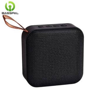 Loa Basspal T5 không dây Bluetooth nhỏ gọn hỗ trợ FM và thẻ TF phù hợp sử dụng ngoài trời