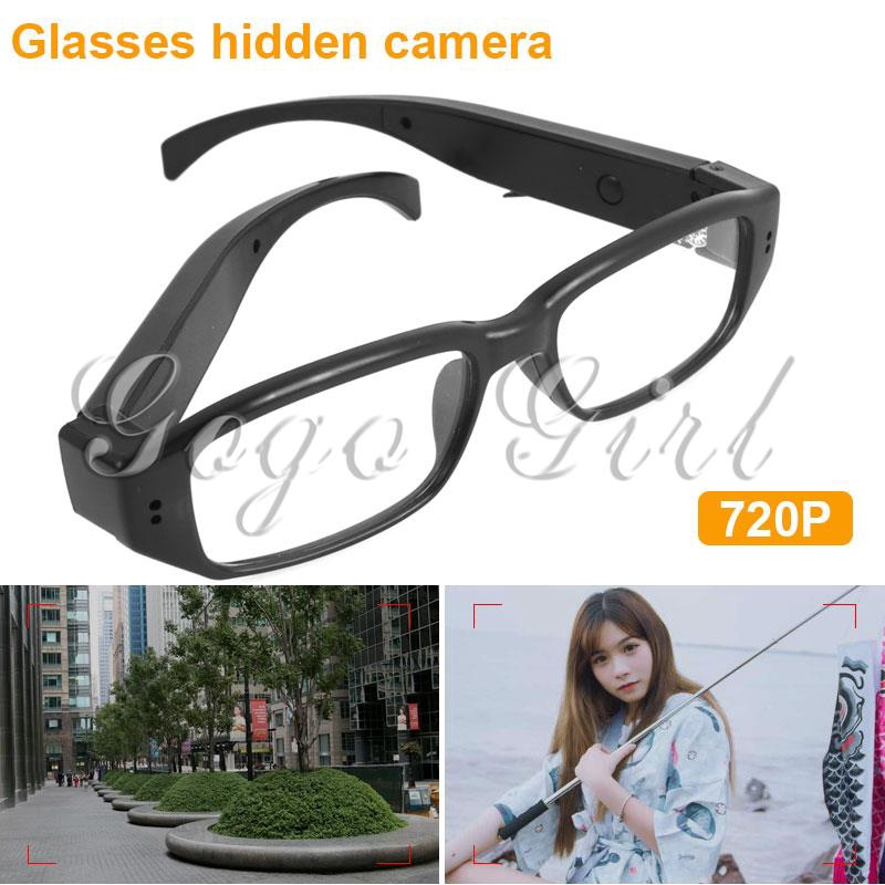 Gogo Glasses Video Recorder Black Glasses DVR Durable Glasses Camera Home Security Webcams Giá chỉ 143.298₫