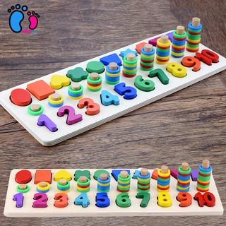 [Freeship đơn 200k] Đồ chơi thông minh, bộ đồ chơi đếm số 1-10 cho trẻ luyện tập trí thông minh toán học