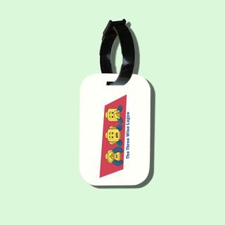 Travel tag cho túi xách balo du lịch in hình 3 wise men Lego thumbnail