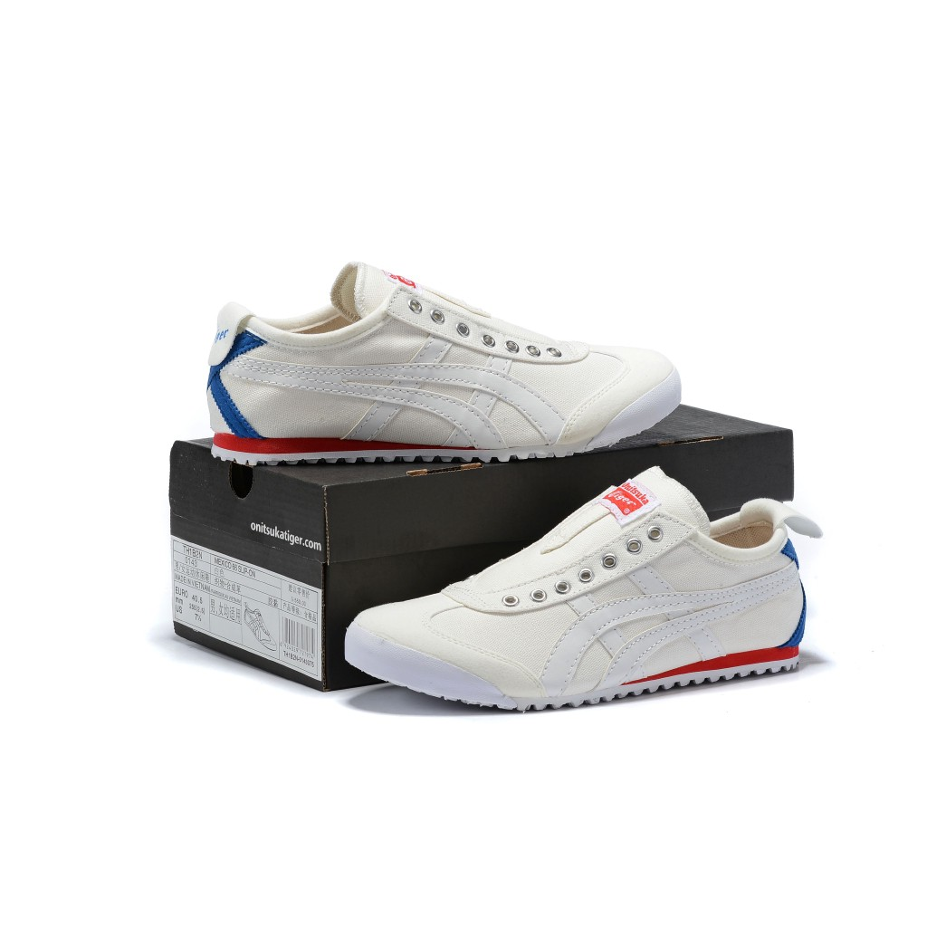 Original Asics tiger Canvas shoes flatshoes running shoes for men/women fashion198