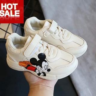 Giày thể thao trẻ em nam nữ 👣FREESHIP👣 Giày Thể Thao Hình Chuột Mickey Cho Bé Trai