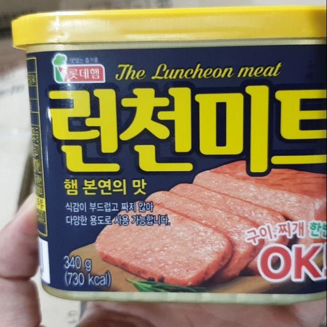 Thịt hộp (Jambong) Hàn Quốc