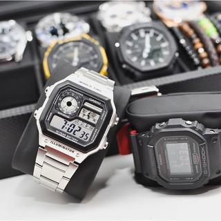 Đồng hồ nam Casio AE 1200-WHD chống nước, phong cách lịch lãm thể thao sang trọng, tặng kèm hộp, pin - Haizz.shop thumbnail
