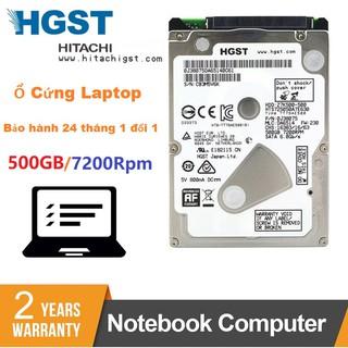 Ổ Cứng Laptop 500GB Hitachi HGST 2.5 inch 7200Rpm Chính Hãng (BH 24 tháng 1 đổi 1) thumbnail