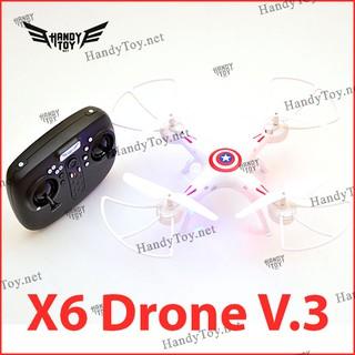 X6 Drone Captain America V.3 – máy bay điều khiển giá rẻ (Không Camera)