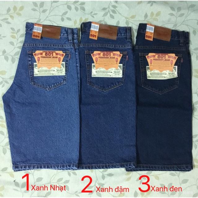 Quần sọt jeans căn bản - short jean nam Quần sọt jeans căn bản
