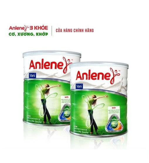 [Mã 2005GIAMGIA giảm 8%] Combo 2 lon Sữa Bột Anlene Movepro Hương Vanilla 800g/hộp (từ 19 đến 45 tuổi)