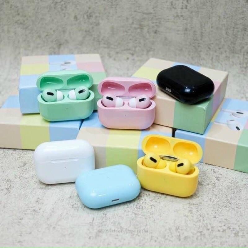 [ Flash Sale] Tai Nghe Bluetooth Inpods Pro 5.0 Cảm Biến Vân Tay, Định Vị, Tự Động Kết Nối- Bảo Hành 12  Tháng