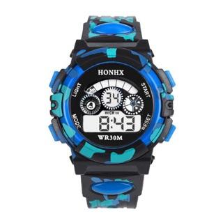 Đồng hồ điện tử kỹ thuật số LED cho bé trai HONHX