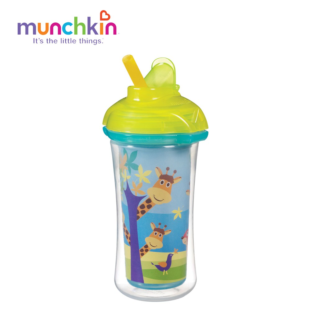 CỐC ỐNG HÚT GIỮ NHIỆT CL MUNCHKIN (266ML) MK15408