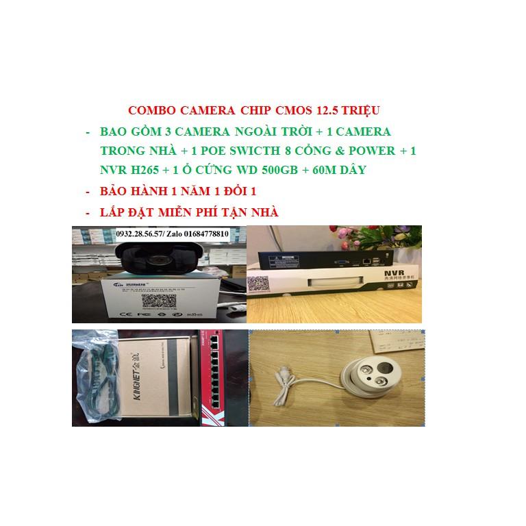 COMBO Bộ Camera HongBang chip CMOS - 15326675 , 1235273775 , 322_1235273775 , 12500000 , COMBO-Bo-Camera-HongBang-chip-CMOS-322_1235273775 , shopee.vn , COMBO Bộ Camera HongBang chip CMOS