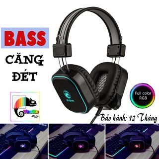 Tai nghe Gaming có Mic E-Dra EH401 RGB Led Bass căng tung nóc I Head phone E-Dra EH401 RGB LED thumbnail