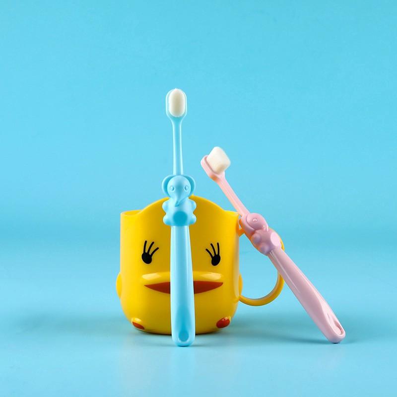 [Mã 267FMCGSALE giảm 8% đơn 500K] Bàn Chải Đánh Răng Lông Mềm Siêu Mảnh Thiết Kế Hoạt Hình Cho Bé 2-5 - 12 Tuổi