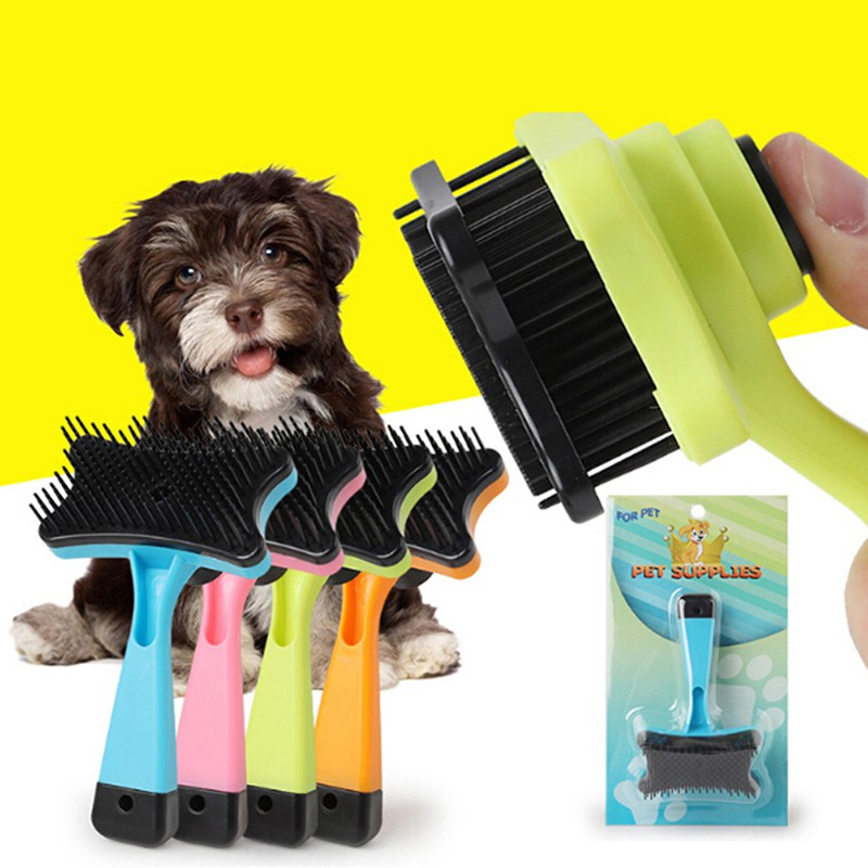 Dog Hair Brush Shedding Trimmer Grooming Rake Professional Comb for Pet Gift
