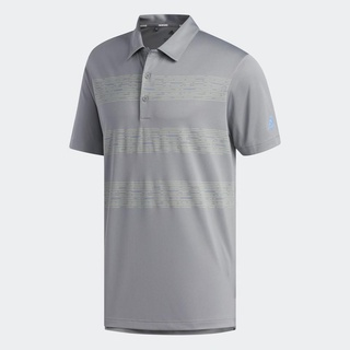 adidas GOLF 3-Stripes Polo Shirt Nam Màu xám DZ8529 thumbnail