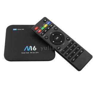 Thiết bị chuyển đổi TV thường thành smart TV M16 Android 7.1 TV Box Amlogic S905X CPU 4 nhân UHD 4K 1GB / 8GB H.265