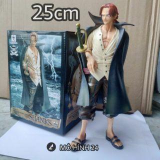 Mô hình cao cấp Shank tóc đỏ – Figure Onepiece Đảo hải tặc Shanks tóc đỏ One Piece shank
