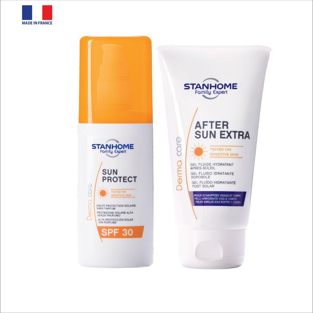 Kem dưỡng phục hồi sau khi đi nắng Stanhome After Sun Extra 150ml