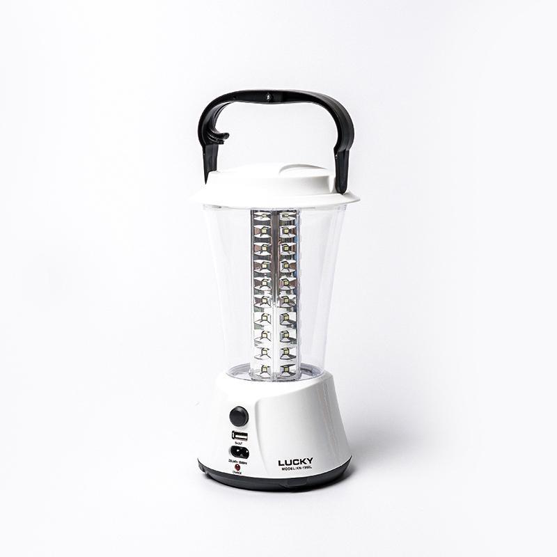 Đèn sạc - Đèn tích điện thông minh KN1960L công nghệ LED tiết kiệm năng lượng, dùng khi mất điện, dễ dàng mang theo