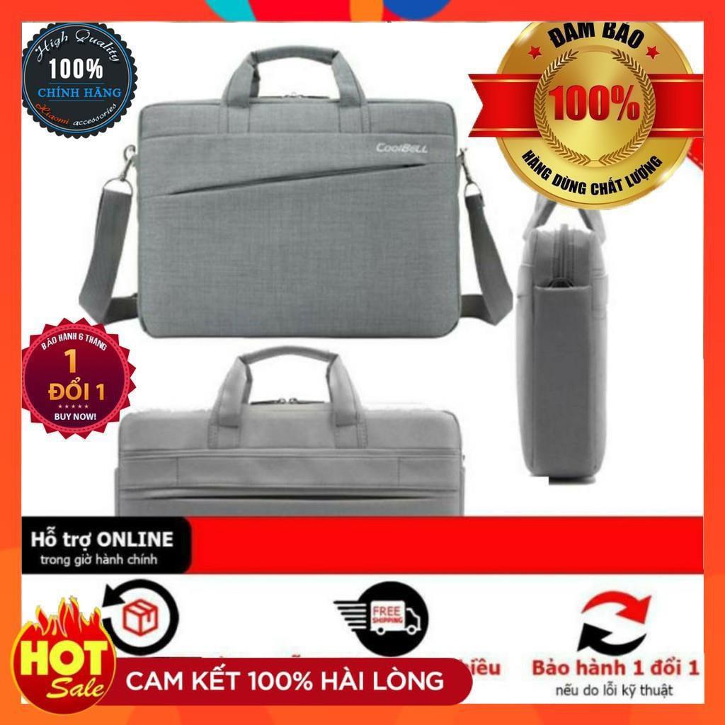 Cặp đựng laptop Coolbell TỐT 12 13 14 15.6 inch-Túi balo cao cấp đựng laptop máy tính xách tay đẹp nam nữ