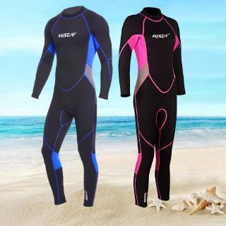 Bộ đồ lặn liền thân dày 3mm tay dài giữ ấm chuyên dụng