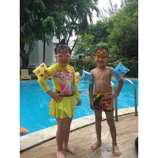 Phao tay tập bơi cho bé dưới 8 tuổi hi nh sinh vâ t biê n dê thương - Ma u tu y cho n. thumbnail