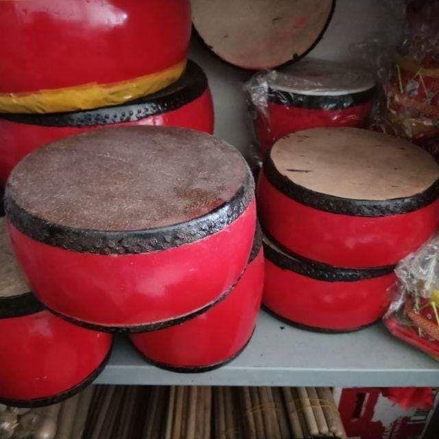 Trống khẩu hát chèo, trống khẩu gỗ mít da trâu( 30cm)