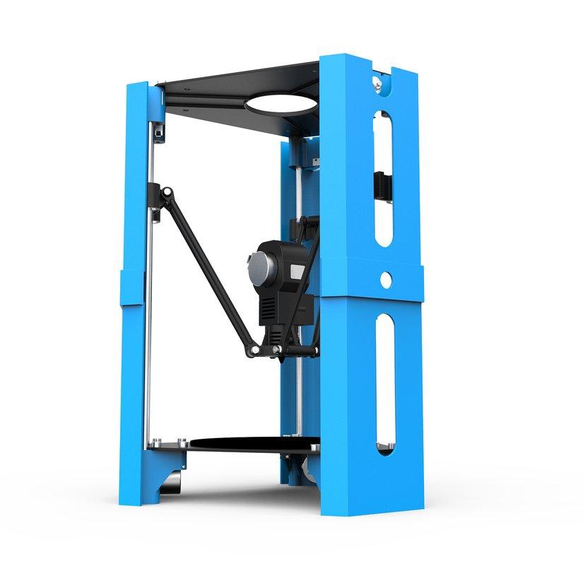 8.15【HOT】Mini DIY Desktop 3D Printer 1.75mm Filament High Precision FDM Printer