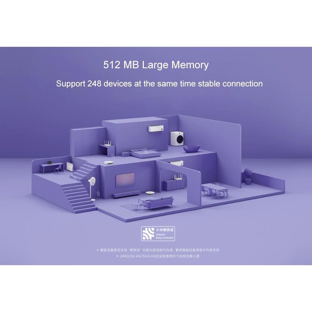 Bộ Router Xiaomi Redmi AX6 WIFI6 2 băng tần- Hàng chính hãng- Bảo hành 1 năm