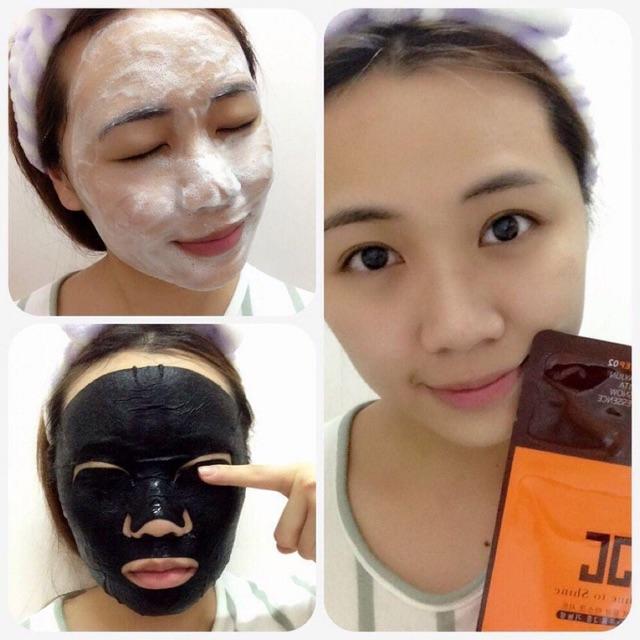 Mặt nạ Jayjun Real Water Brightening Black Mask