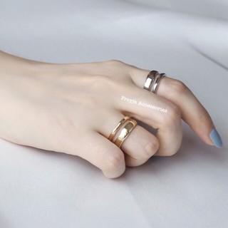 [Clip kèm]Nhẫn tròn hợp kim mạ bạc/vàng đơn giản cực nổi bật cho các nàng thích đơn giản, nhẹ nhàng - đẹp 100%